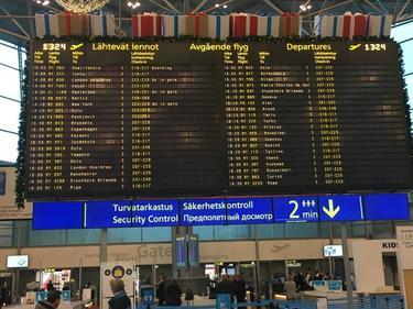 Helsinki to London