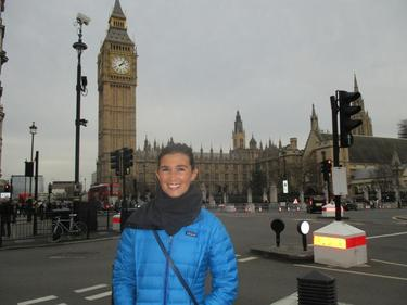 Popping into London Town